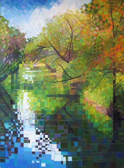 Mary-Lingen-Root-River-3-Oil-on-Canvas
